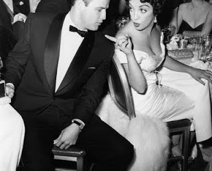 Marlon Brando and Katy Jurado 1955