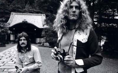 camera robert plant and john bonham