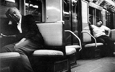 arthur_leipzig_subway_sleepers_1950