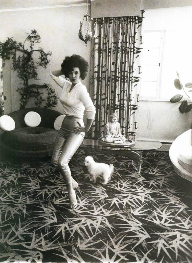 Blaze Starr in Her Living Room, July 1964 Photo:  Diane Arbus